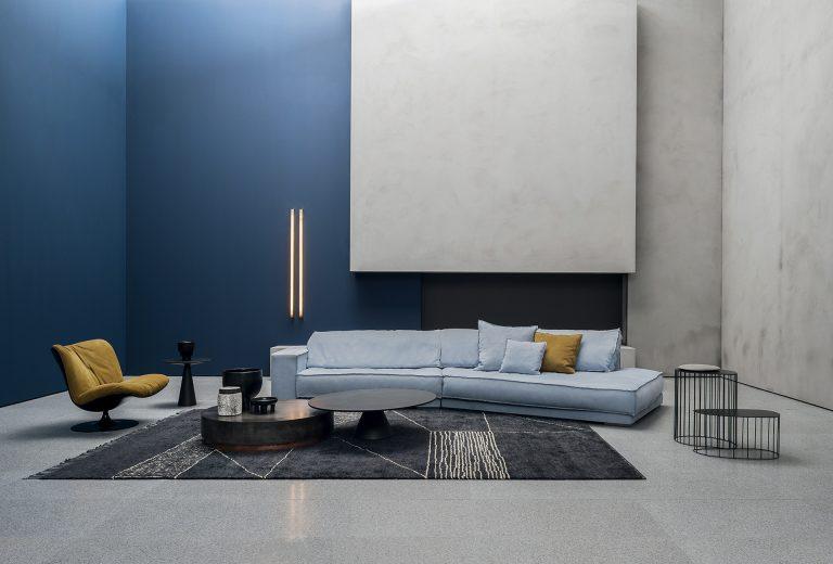Sofa BUDAPEST SOFT Baxter Crescente Arredamenti 0